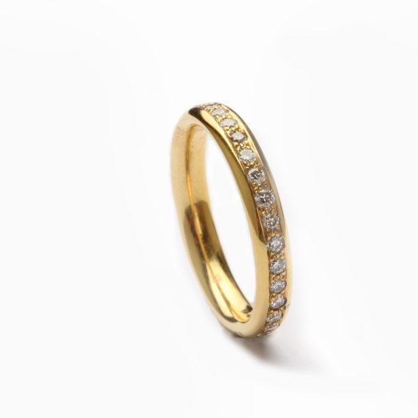 Memoire - Ring in Gold mit Brillanten