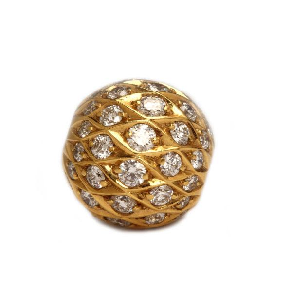 Wechselschließe Gold Diamanten