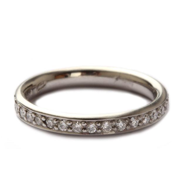 Ring in Rosegold mit 6 Diamanten