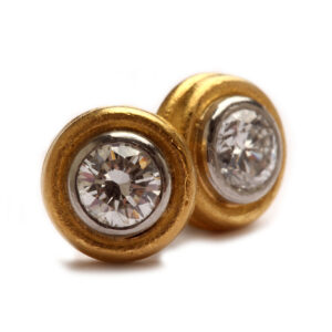 Ohrstecker in Gold mit Brillanten